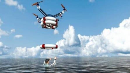 Pars, il drone bagnino che salva vite umane
