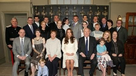 """Kate Middleton sul set di """"Downton Abbey"""""""