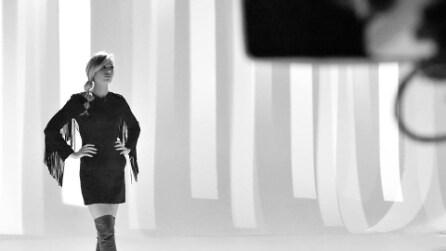 Il look di Ilary Blasi a Le Iene del 12 marzo 2015