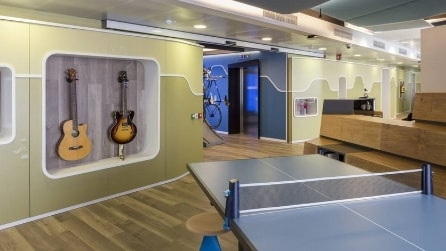 LinkedIn, le foto dei nuovi uffici di Milano