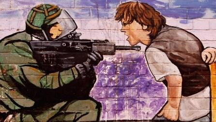 I murales di Belfast: la guerra civile raccontata dai muri della città