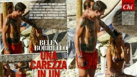 Le foto di Belen Rodriguez e Marco Borriello