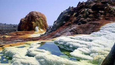 Il vulcano Dallol: un paesaggio alieno sulla Terra