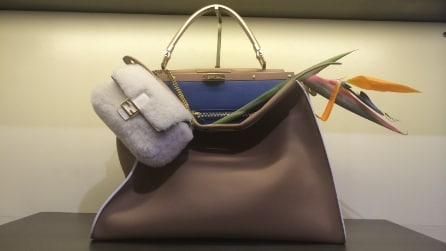 Fendi: borse, scarpe e abiti della collezione Autunno/Inverno 2015-16