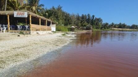 Lo straordinario lago rosa del Senegal
