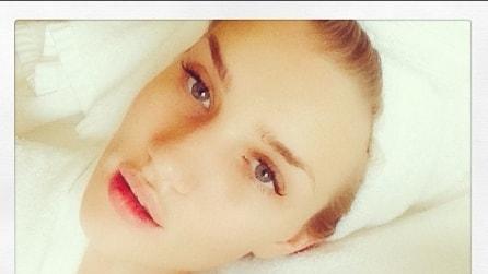 Celebrities senza trucco: da Miranda a Gisele, tutti i selfie al naturale