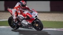 Qatar, favolosa Ducati in pole davanti a Pedrosa e Marquez