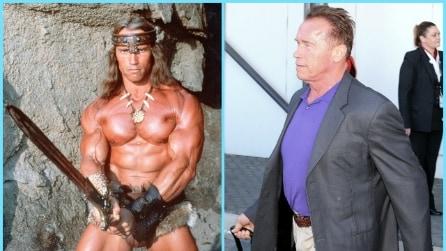 Le star del cinema d'azione anni '80, ieri e oggi