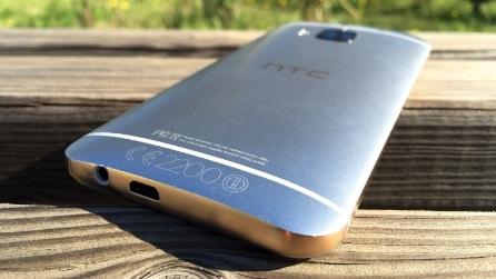 HTC One M9 - Il design