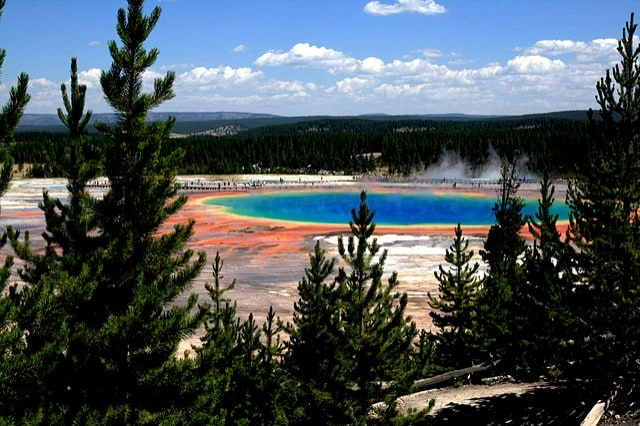 http://commons.wikimedia.org/wiki/File:Grand_Prismatic_Spring_and_Midway_Geyser_Basin_Yellowstone_NP.jpg