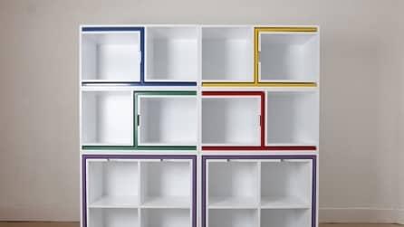 Sembra una libreria vuota ma non immaginerete mai cosa contiene