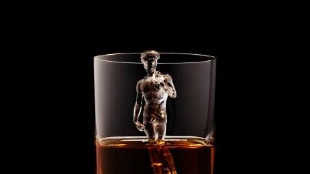 Questi cubetti di ghiaccio stampati in 3D vi faranno venire voglia di bere Whisky