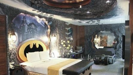 Benvenuti nella Batcaverna: a Taiwan apre il primo hotel a tema batman