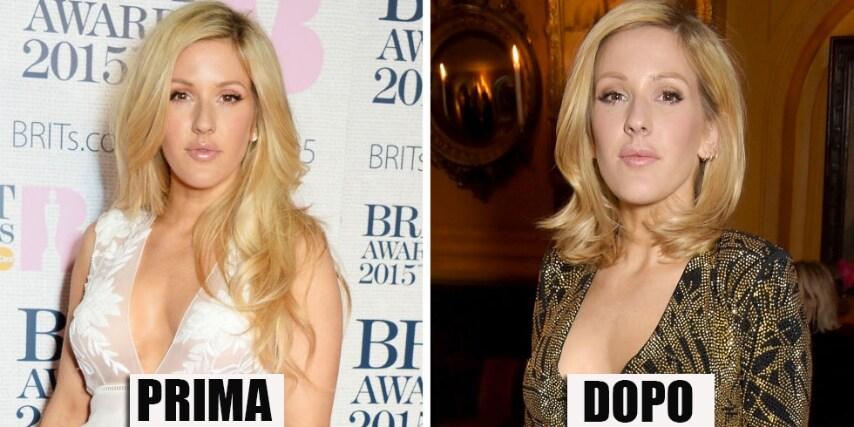 La Goulding arriva a Londra con un taglio più corto che la fa meno popstar e più cantante sofisticata. GETTY