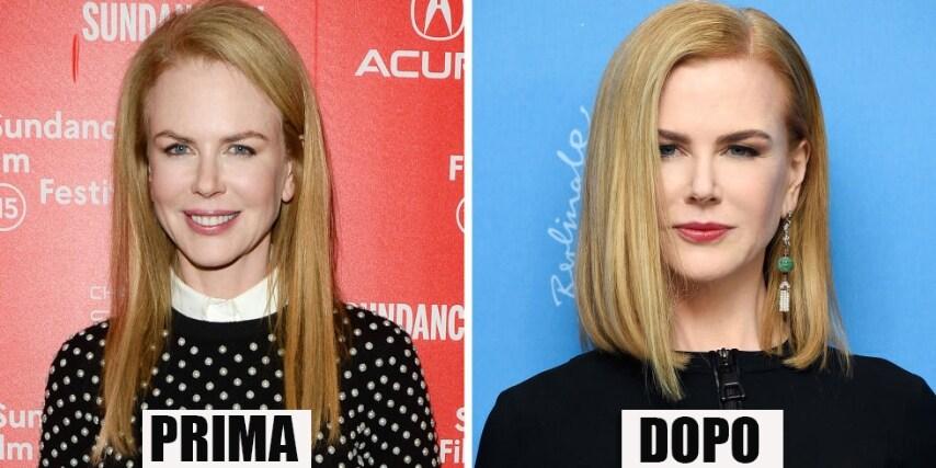 Col nuovo taglio i capelli dell'attrice acquisiscono un considerevole volume che le dona. GETTY