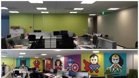 Come trasformare il vostro ufficio con i post-it