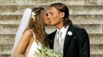 Il matrimonio di Ilary Blasi e Francesco Totti