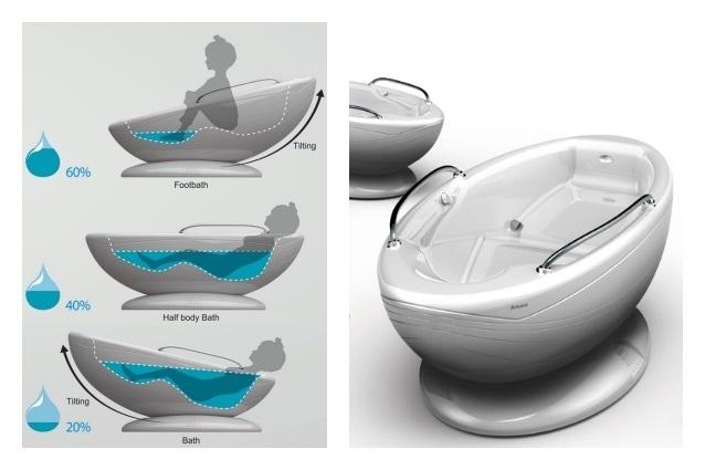 Multifunction Bathtub è una vasca da bagno creata da Seung Hyun Lee, il Woong Jwa, Bom Yi Lee & Jiwon Luna, che a seconda di come si inclina e si utilizza può far risparmiare l'80% di acqua per un pediluvio, il 60% di acqua per un bagno a mezzo corpo e il 40% per un bagno di totale immersione e relax.