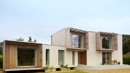 D-Process: la casa di legno che si stampa in 3D e si assembla come i Lego