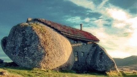L'incantevole casa di pietra in Portogallo