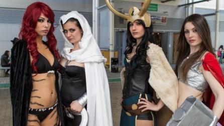 Romics 2015, le foto dei cosplayer alla fiera del fumetto di Roma