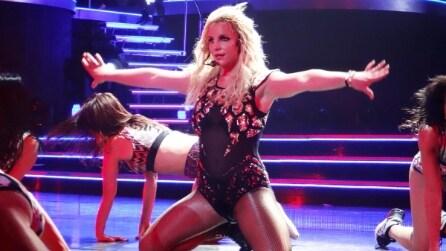 Britney Spears in concerto a Las Vegas