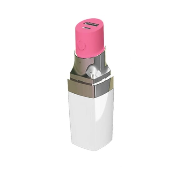 Caricabatterie USB portatile per smartphone a forma di rossetto 29,99 €