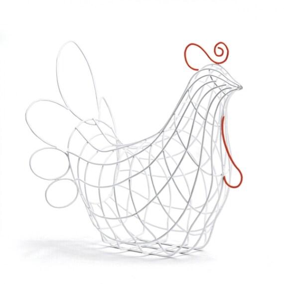 Portafrutta a forma di gallina, Seletti €89