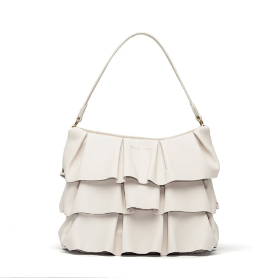 Borsa con maxi ruches Twin-Set Simona Barbieri