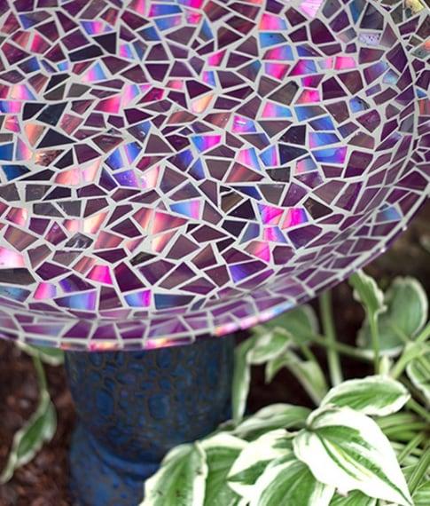 Ed ottenere un fantastico effetto mosaico.