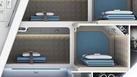 Zodiac Aerospace, massima comodità nelle cabine per l'equipaggio