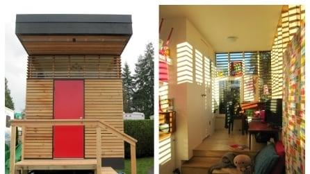 Vivere in 17 metri quadri: la mini casa con tutti i comfort