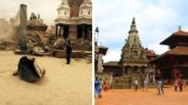 Terremoto in Nepal: i luoghi prima e dopo il sisma