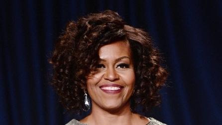 Nuovo look capelli per Michelle Obama