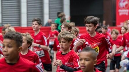 Romeo Beckham: da modello a maratoneta