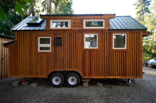 È una piccola casa ma un vero gioiello.
