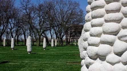 USA, lo stravagante monumento dedicato alle pannocchie