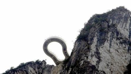 Cina: ecco il ponte a sbalzo più lungo del mondo