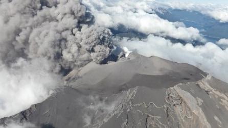 Il terribile spettacolo dell'eruzione del vulcano Calbuco