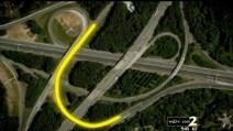 Atlanta, l'illusione ottica della I-285