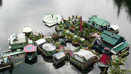 Desideri fai da te: come costruirsi la propria isola galleggiante