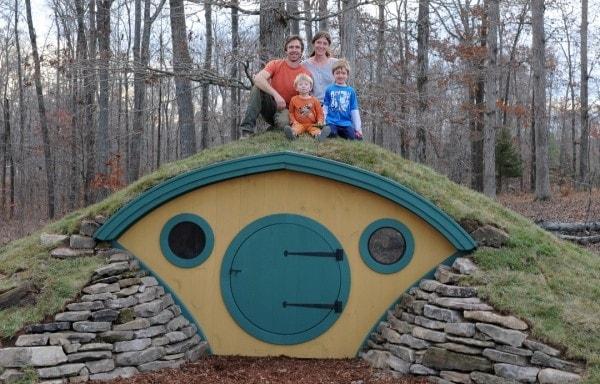 Nel Maine (USA) la famiglia Pillsbury ha fatto del fantasy una realtà.