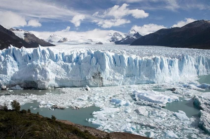 Parco nazionale islandese dagli scenari glaciali ed alienanti.