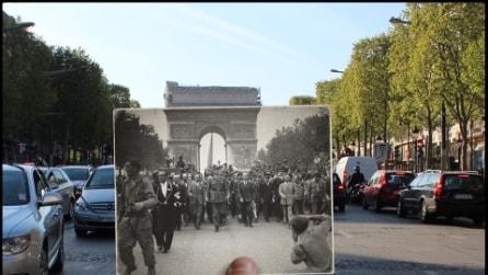 Come è cambiata Parigi negli ultimi 70 anni?