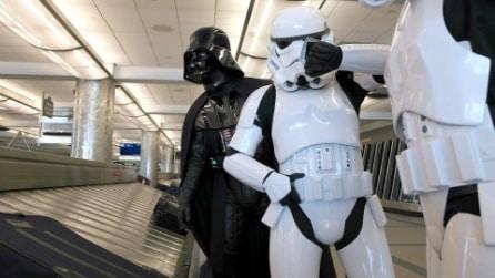 Guerre Stellari in aeroporto