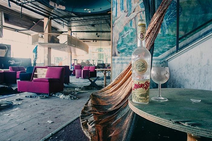 Ex discoteca degli anni '50/'60 poi iniziò il declino ormai è praticamente distrutta