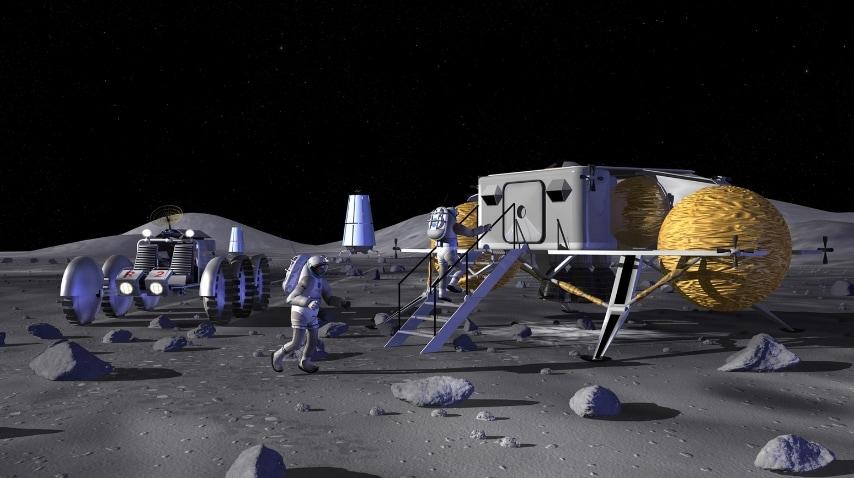 Nel 2006 la Nasa ci sorprende con un rendering molto più modesto. FONTE: NASA