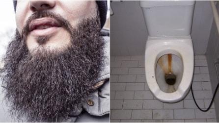 Cos'hanno in comune una barba e un WC (sporco)? Lo studio shock