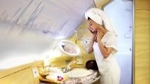 Se l'aereo diventa una SPA: un sogno chiamato prima classe