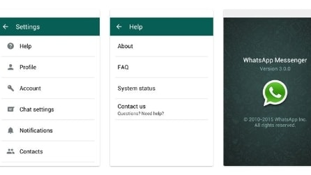 WhatsApp 3.0, la nuova versione per smartphone Android in Material Design